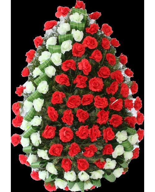 Coroana Din Trandafiri Artificiali
