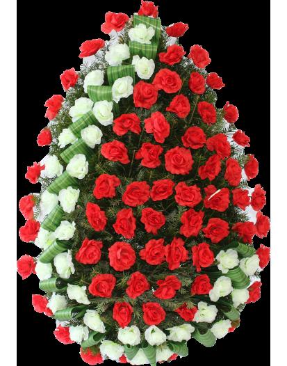 Coroana Trandafiri Artificiali