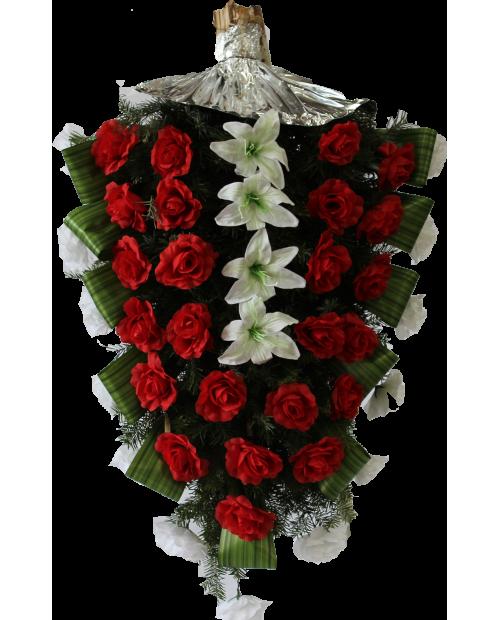Jerba Trandafiri , crini artificiali si brad natural