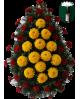 Corona Garoafa si Crizantema Romaneasca De Sezon